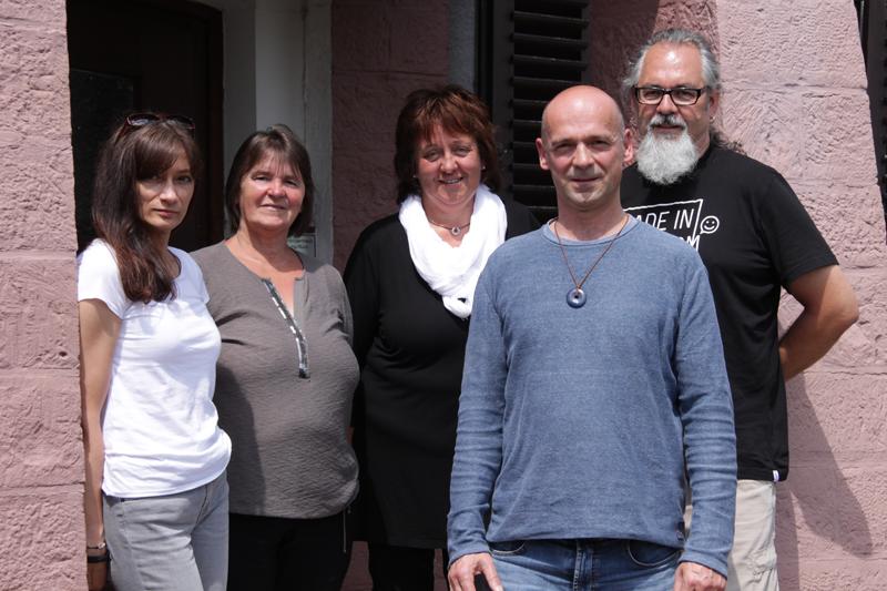 Das Regenbogen Pädagogenteam der WG Mosaik